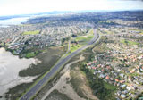 The Waterview Connection Application includes the work to extend SH20 and the capacity improvements to SH16 to Te Atatu.