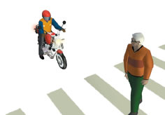Can you hold the motorcycle upright?